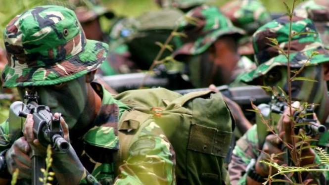 VIVA Militer: Prajurit Tentara Nasional Indonesia (TNI)