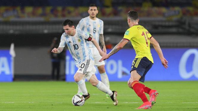 Prediksi Susunan Pemain Timnas Argentina Vs Kolombia