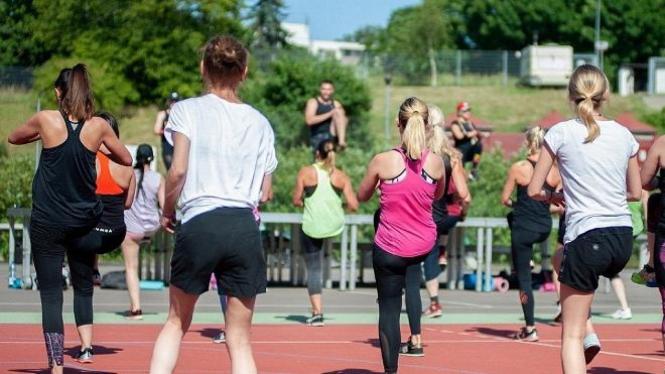 Berolahraga untuk meningkatkan daya tahan tubuh