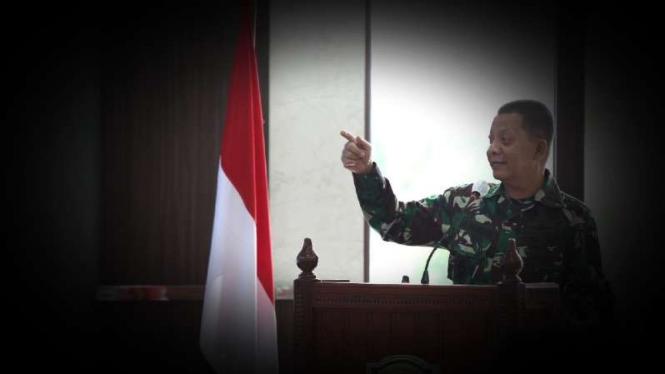 VIVA Militer: Pangdam Iskandar Muda, Mayjen TNI Achmad Marzuki.