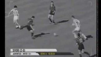 Juventus menghajar Inter Milan 9-1 pada 10 Juni 1961.