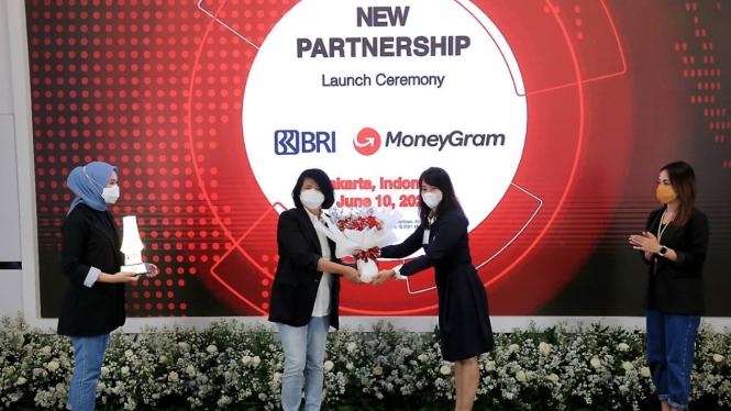 New partnership launch ceremony BRI dan MoneyGram