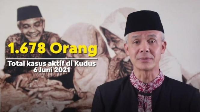 Gubernur Jawa Tengah, Ganjar Pranow.