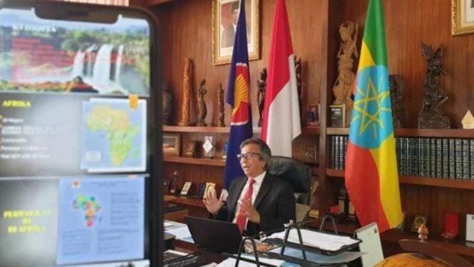 Duta Besar RI untuk Ethiopia, Djibouti, dan Uni Afrika, Al Busyra Basnur