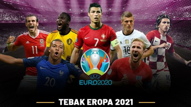 Tebak Eropa 2021.