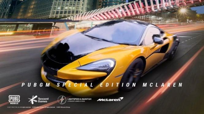 McLaren 570S.