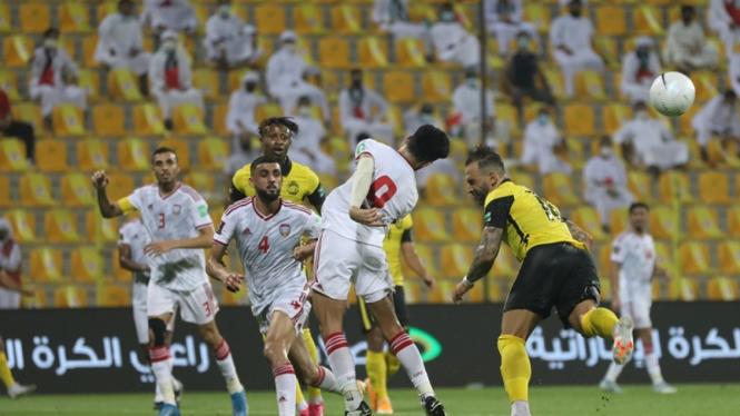 Timnas Malaysia melawan Uni Emirat Arab
