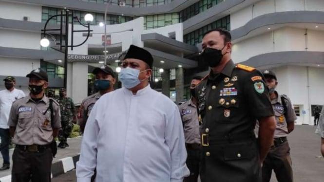 Wali Kota Bogor Bima Arya (kanan)