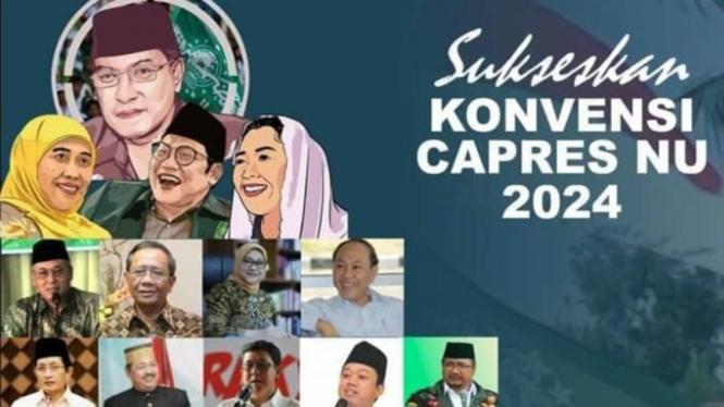 Beredar poster Konvensi Capres NU 2024.