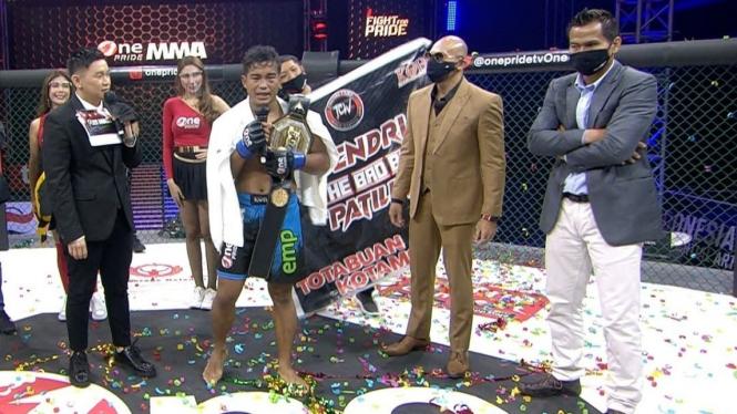 Windri Patilima juara baru One Pride