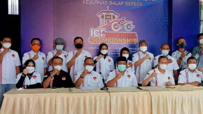 Kejurnas Balap Sepeda ICF National Championship 2021