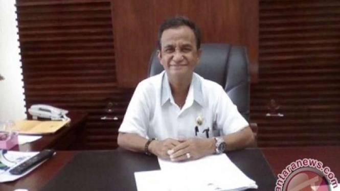 Wakil Bupati Kepulauan Sangihe Helmud Hontong.