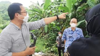Persiapan hutan kota di Bogor