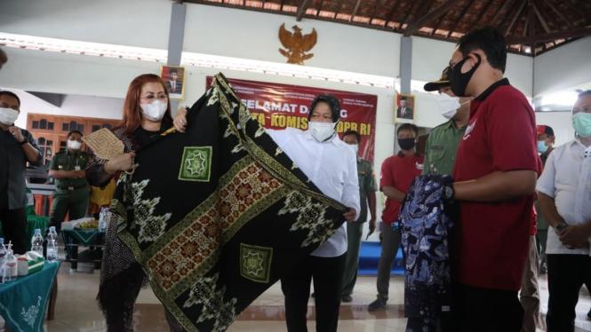 Mensos Tri Rismaharini melakukan kunjungan kerja ke Kabupaten Ponorogo,