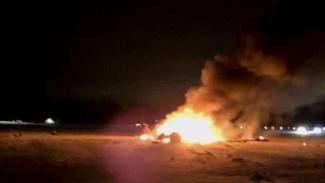 VIVA Militer: Ledakan di Pangkalan Militer Victory AS di Baghdad, Irak