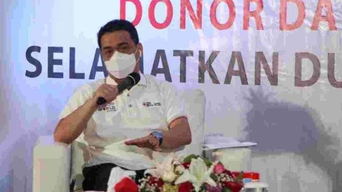 Wakil Gubernur Provinsi DKI Jakarta, Ahmad Riza Patria.