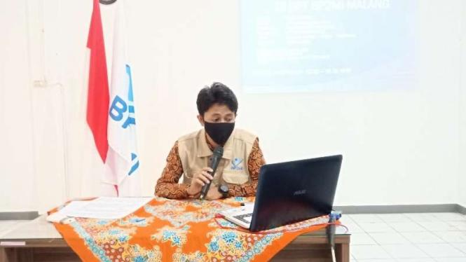 Koordinator UPT BP2MI Malang, M Kholid Habibi