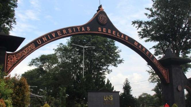 Universitas Sebelas Maret (UNS) Surakarta, Jateng.