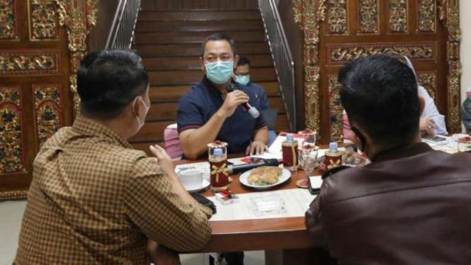 Wali Kota Semarang Hendrar Prihadi.