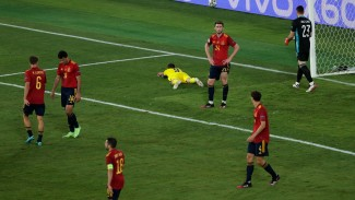 Timnas Spanyol vs Swedia