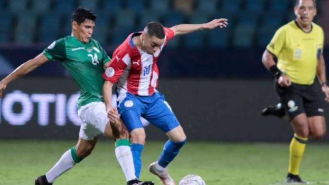 Gelandang Paraguay, Miguel Almiron mirip Raditya Dika
