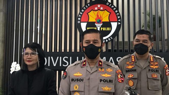 Kepala Biro Penerangan Masyarakat Divisi Humas Polri, Brigjen Rusdi Hartono.