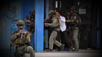 VIVA Militer: Marinir TNI AL dan Marinir AS bebaskan sandera di Banyuwangi