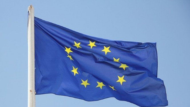 Bendera Uni Eropa.