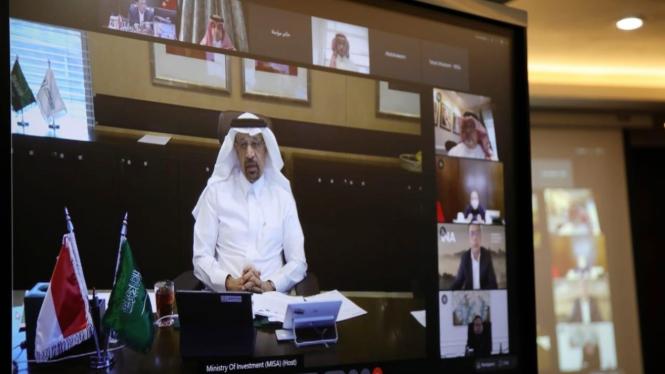 Menteri Investasi Arab Saudi Khalid Al-Falih.