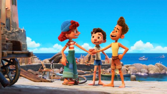 Film animasi Disney, Luca.