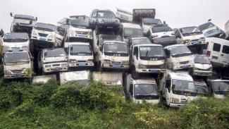 Mobil tua disita pemerintah India.
