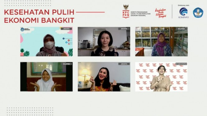 Webinar bertema Bersiap Sekolah Tatap Muka Terbatas, Rabu (16/6).