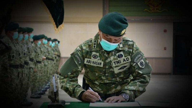 VIVA Militer: Serah terima jabatan Markas Kostrad.
