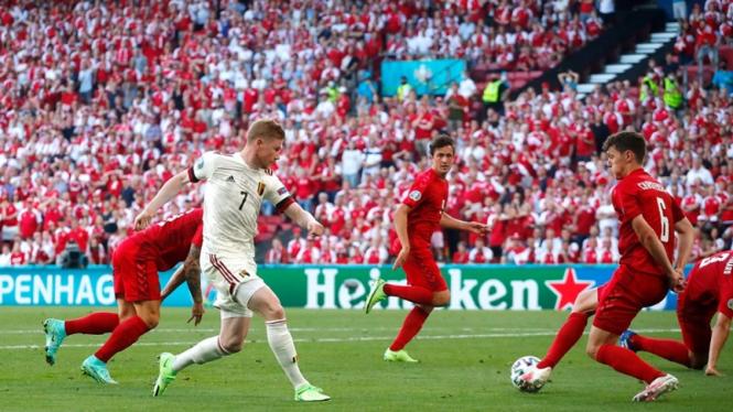 Pertandingan Timnas Denmark Vs Belgia