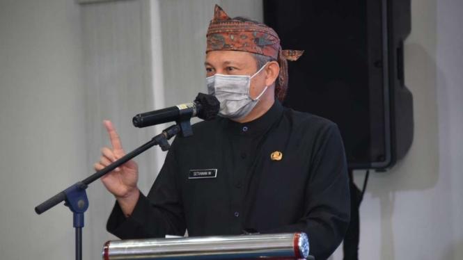 Sekda Provinsi Jawa Barat, Setiawan Wangsaatmaja