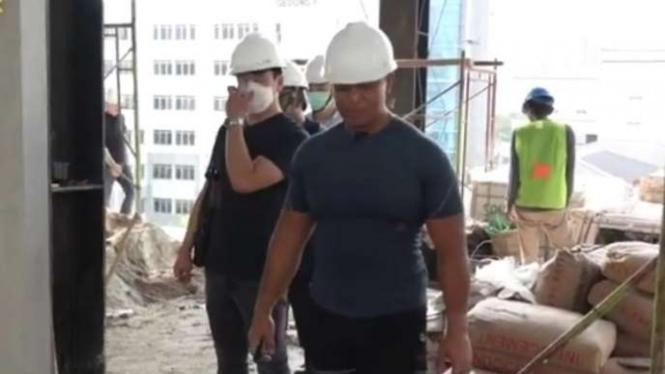 VIVA Militer: KSAD tinjau pembangunan Gedung Cyber TNI Angkatan Darat di Mabesad