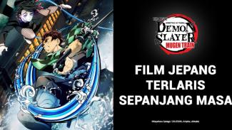 Demon Slayer, film anime Jepang terlaris sepanjang masa