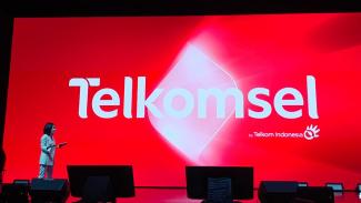 Logo baru Telkomsel.