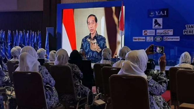 Arahan Presiden Jokowi di acara Munas IWAPI