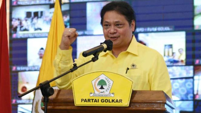 Ketua Umum Golkar Airlangga Hartarto.