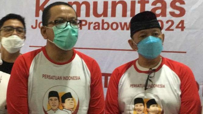 M Qodari di Komunitas Jokowi-Prabowo (Jokpro 2024)