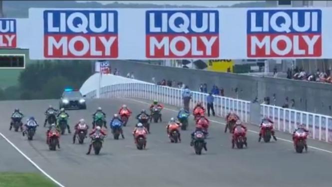 Balapan MotoGP Jerman 2021.