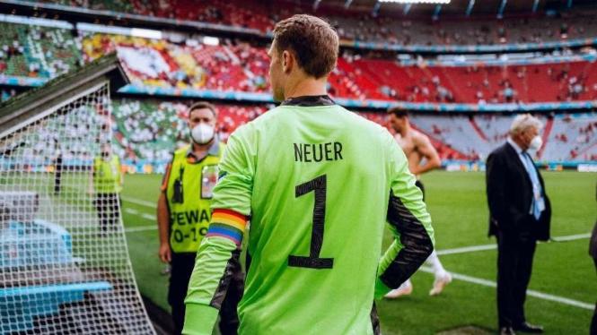 Kiper sekaligus kapten Timnas Jerman, Manuel Neuer