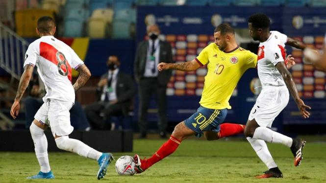 Pertandingan Kolombia vs Peru