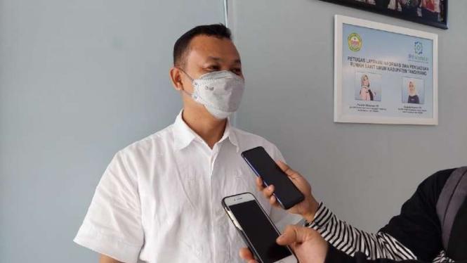 Kepala Instalasi Hukum Publikasi dan Informasi (HPI) RSUD Kab Tangerang Hilwani