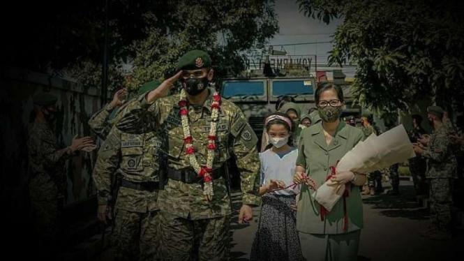 VIVA Militer: Letkol Arief Budiman jadi Danyonarmed 1/AY Kostrad.