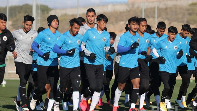 144 pemain bakal jalani TC Timnas Indonesia U-18