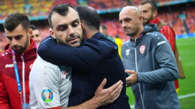 Pertandingan terakhir Goran Pandev bersama Timnas Makedonia Utara