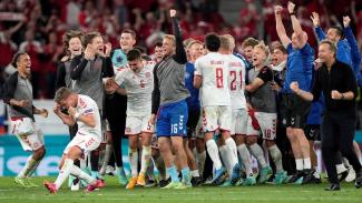 Timnas Denmark lolos ke 16 besar EURO 2020