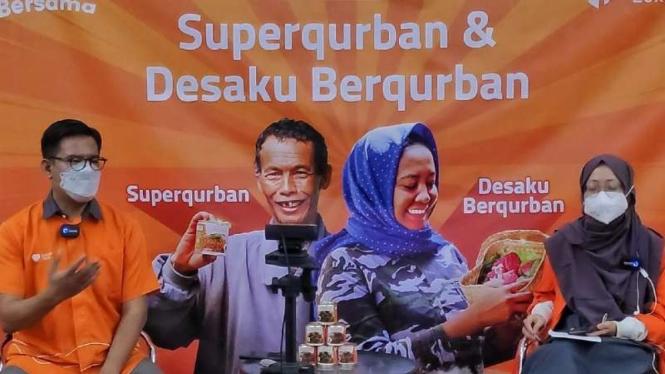 Rumah Zakat meluncurkan program pengelolaan kurban yang dinamai Superqurban dan Desaku Berkurban.